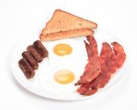Déjeuner d'oeufs Image stock