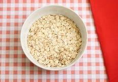 Déjeuner de farine d'avoine Photographie stock libre de droits