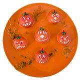 Déjeuner de Halloween Photographie stock