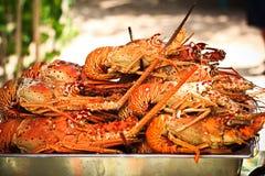 Déjeuner de homard Photos stock