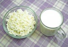 Déjeuner de laiterie Photos stock