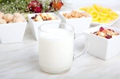 Déjeuner de nourriture biologique image libre de droits