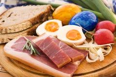Déjeuner de Pâques Photographie stock libre de droits