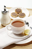 Déjeuner de thé Photo libre de droits
