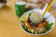 Déjeuner de Vegan photographie stock