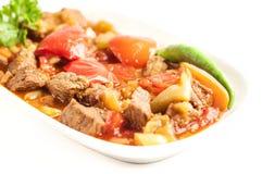 Déjeuner de viande - image courante Image stock