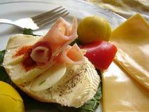 Déjeuner gastronome photographie stock libre de droits