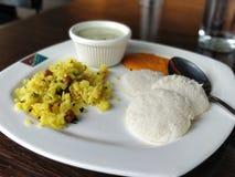 Déjeuner indien photographie stock