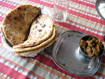 Déjeuner indien Images stock