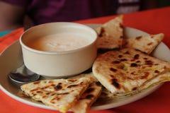 Déjeuner indien Photographie stock libre de droits