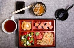 Déjeuner japonais de Bento Photo libre de droits