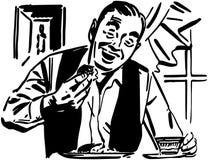 DÉJEUNER mangeur d'hommes illustration de vecteur