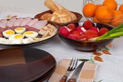Déjeuner riche Image libre de droits