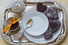 Déjeuner romantique Images stock