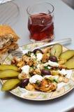 Déjeuner roumain lourd Images stock