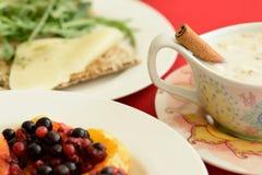 Déjeuner sain Photo stock