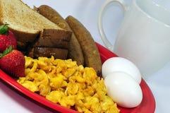Déjeuner sain frais de matin image libre de droits