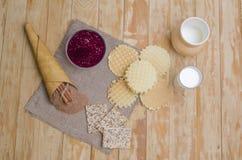 Déjeuner savoureux Photo libre de droits