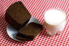 Déjeuner simple Photo stock