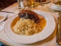 déjeuner Style bavarois Image stock