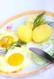 Déjeuner végétarien Photos stock