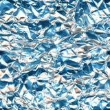 Déjouez la texture sans couture légère bleue argentée en aluminium, fond multicolore mou de modèle bleu orange doux photos stock