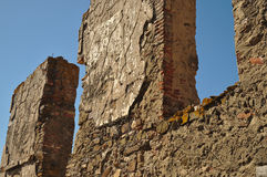 Délabrement de mur Photos stock