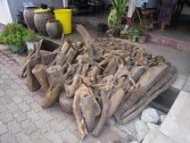 Délabrement en bois Images libres de droits