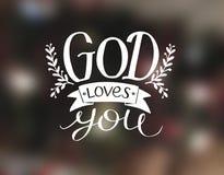 Déle a amores de dios de las letras, hecho una fuente blanca libre illustration