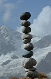 Délicatement équilibré Image stock