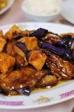 Délicatesse saine d'aubergine photos libres de droits