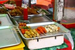 Délicatesses culinaires malaisiennes Images libres de droits