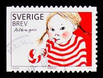 Délicatesses suédoises délicieuses, agriculture et serie de nourriture et de cuisson de nourriture, vers 2010 Image stock