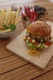 Délicieux hamburger Image stock
