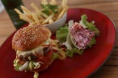 Délicieux hamburger Photographie stock
