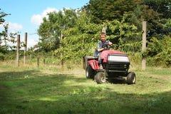 Déménager de pelouse Photo stock