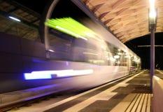 déménagez la tramway Images stock