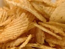 Démarreur épicé de casse-croûte de pommes chips Images stock