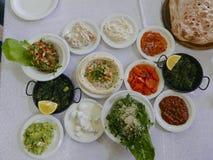 Démarreurs de nourriture, Israël Images stock
