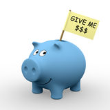Déme los dólares Foto de archivo libre de regalías