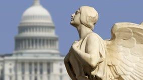 Démocratie de capitol image libre de droits