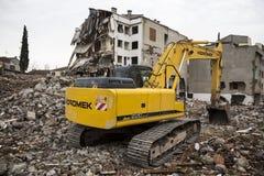 démolition Image libre de droits