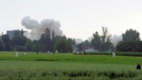 Démolition de bâtiment à Ottawa Images stock