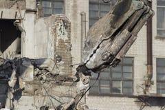 Démolition de bâtiment Images stock
