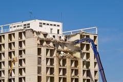 Démolition de construction Photo libre de droits