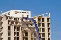 Démolition de construction Images stock