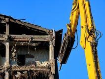 Démolition des bâtiments Photos stock