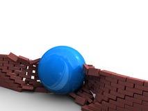Démolition des obstacles Image stock