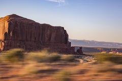 Démon de vitesse dans Moab Utah photo libre de droits