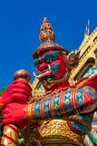 D?mon rouge chez Wat Khao Rang, Phuket photo stock